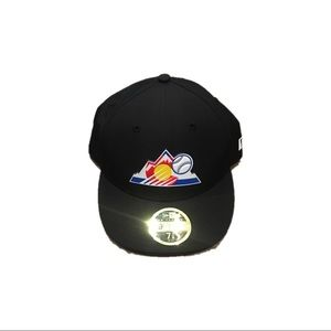 Colorado Rockies New Era Fitted Practice Hat Cap